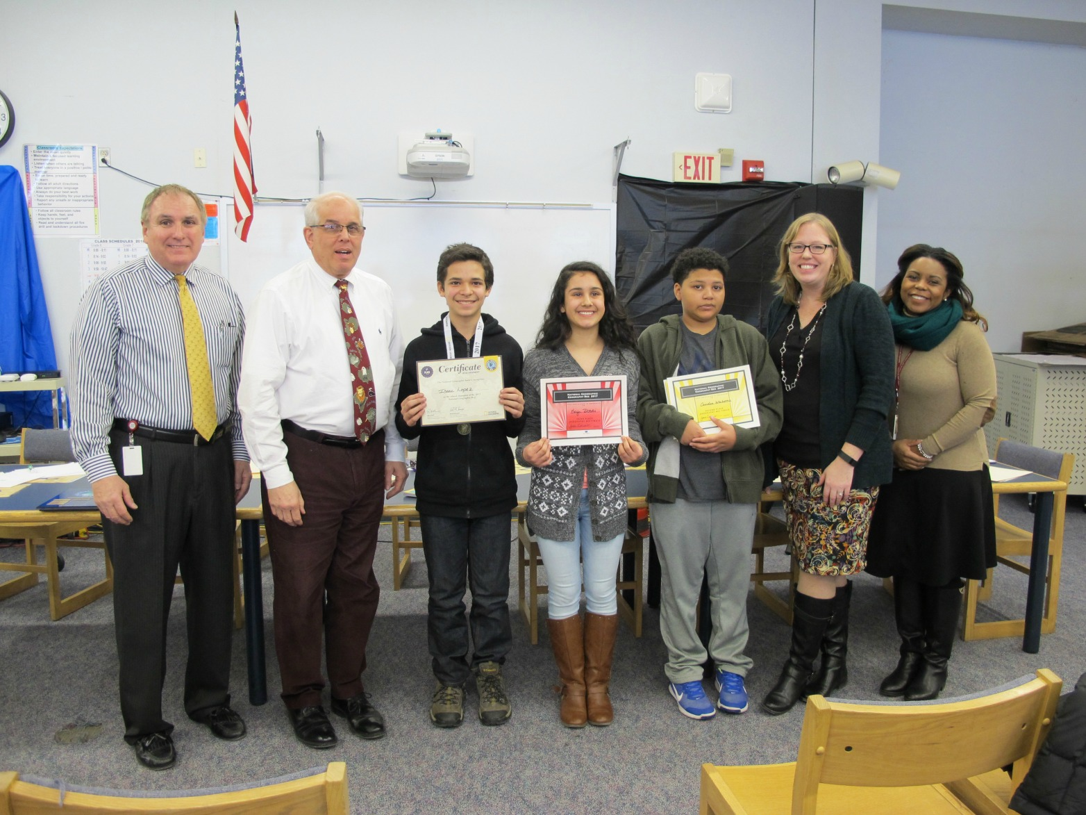 Sage Park National Geographic Geography Bee Winners