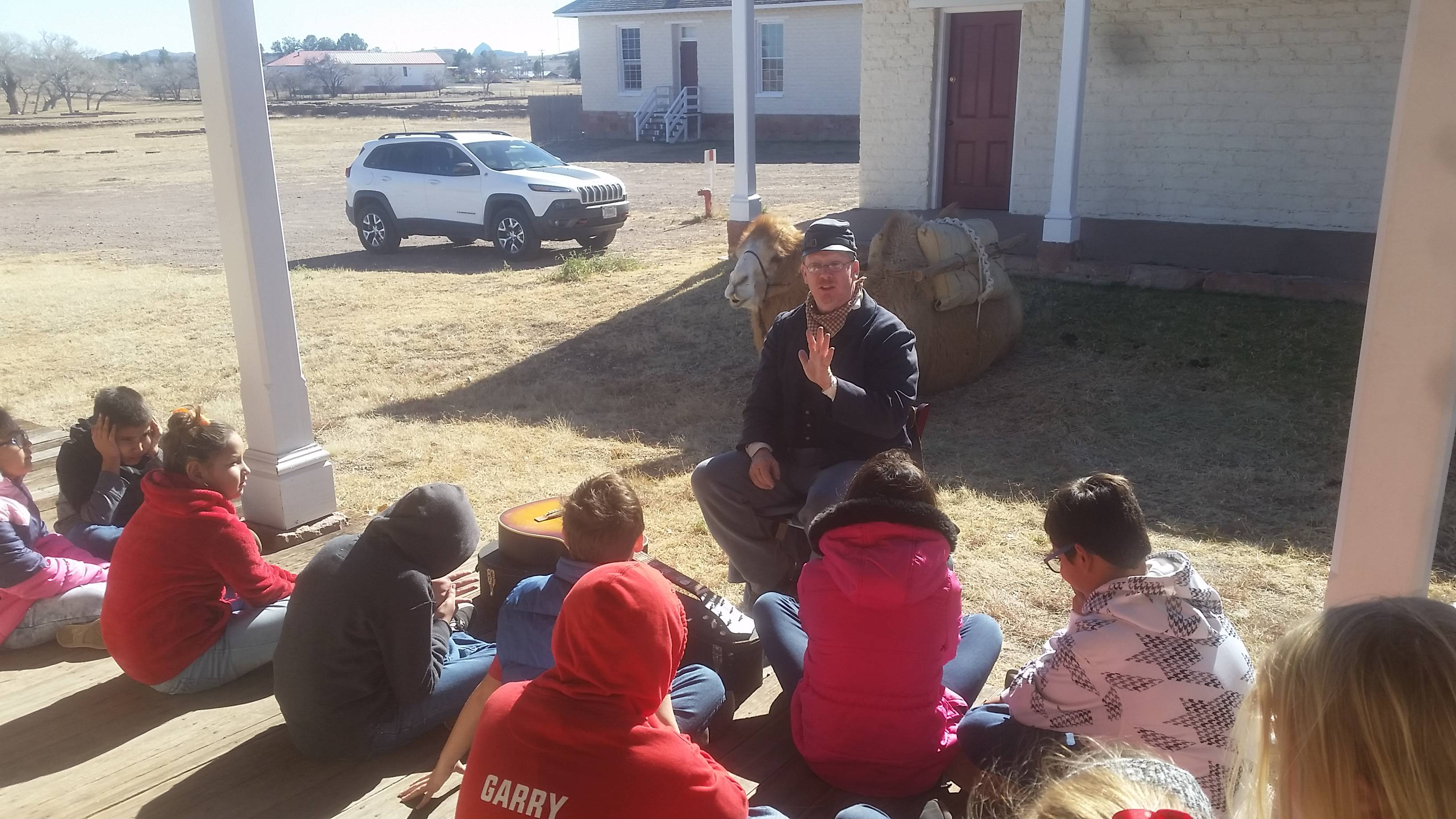 Fort Davis field trip, Dec. 13