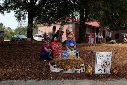 Scarecrows Come to Central Services