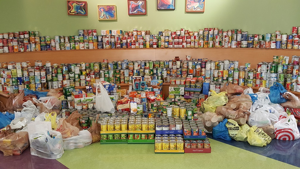 Canned Food Drive Was a Success