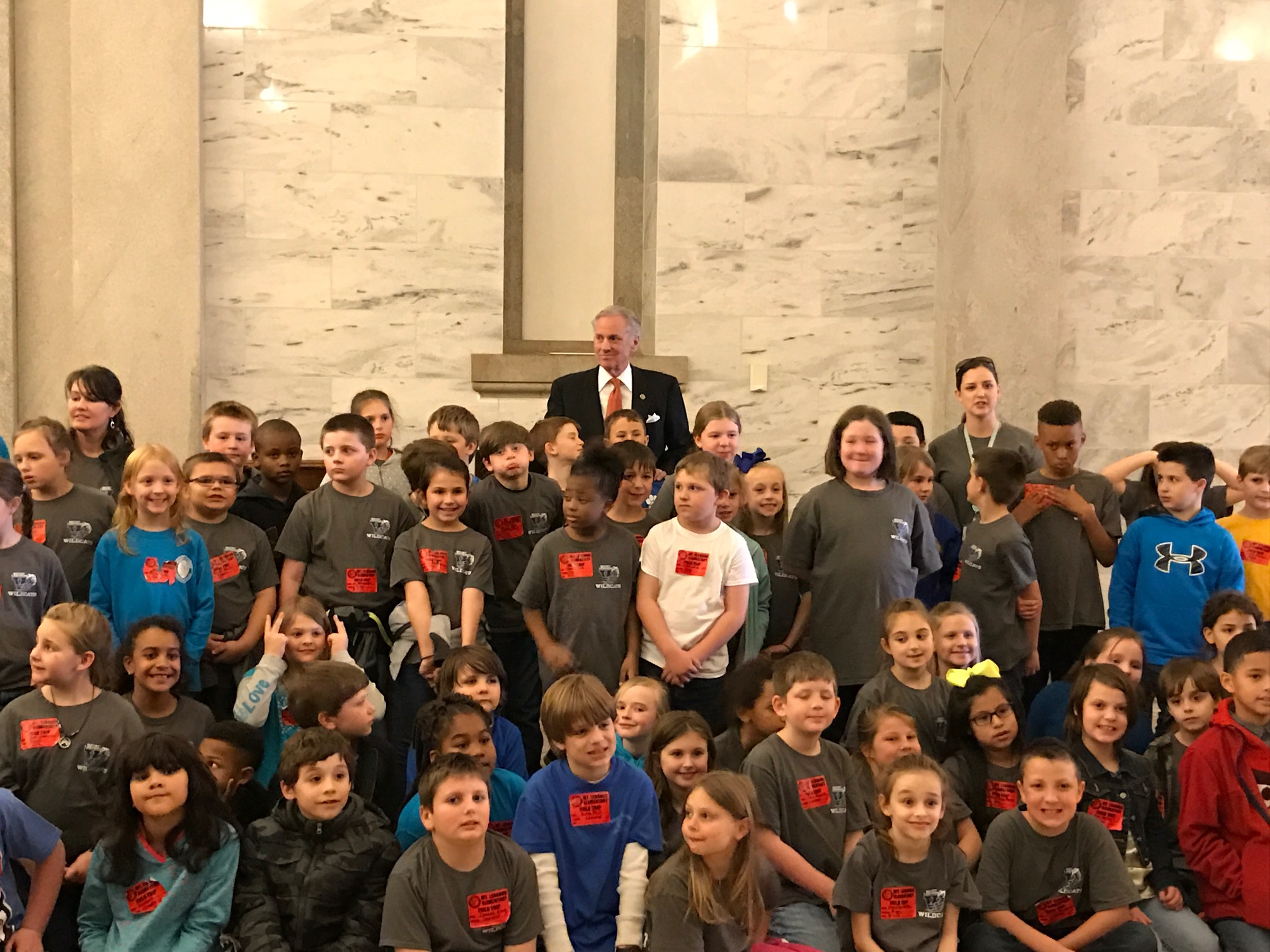 3rd Graders Visit the Capitol