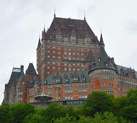 Quebec Trip Website