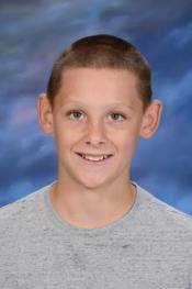 CONGRATULATIONS ATHLETES OF THE WEEK - 7TH GRADE:  CONNER GRAY