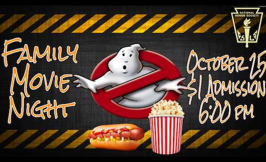 Fall Family Movie Night - Thursday, October 25, 2018