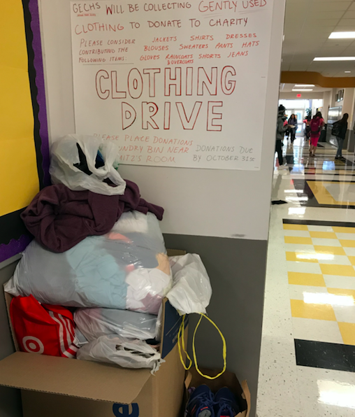 Clothing Drive - October Service Project