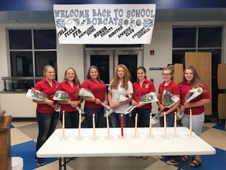 UPTON FCCLA CHAPTER OFFICERS