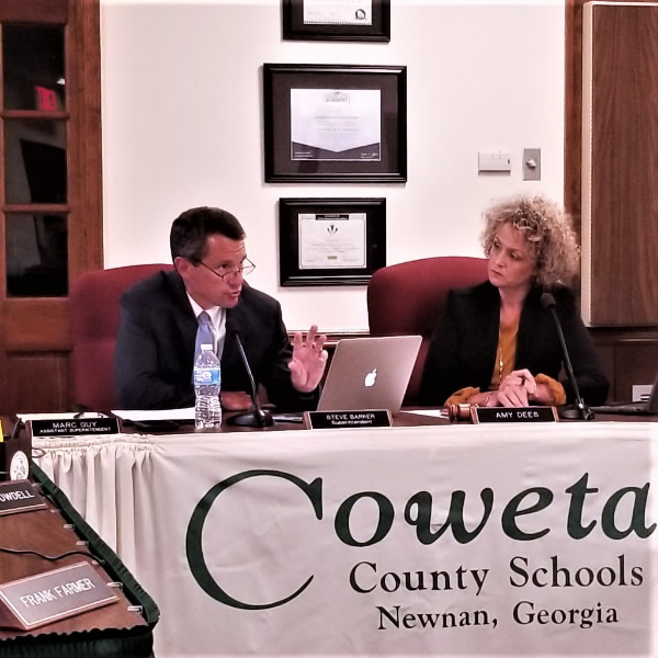 School Board discusses Northgate additions, possible realignment of East Coweta and Northgate districts