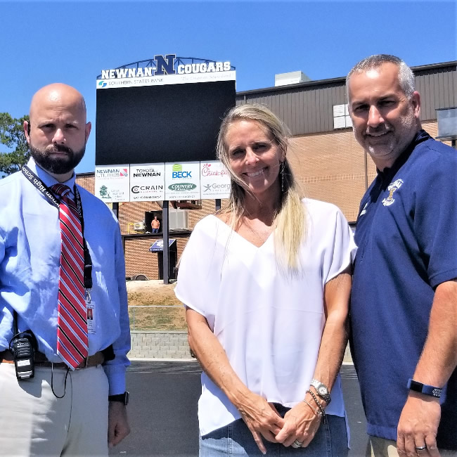 Community partners provide addition To Newnan High's Drake Stadium