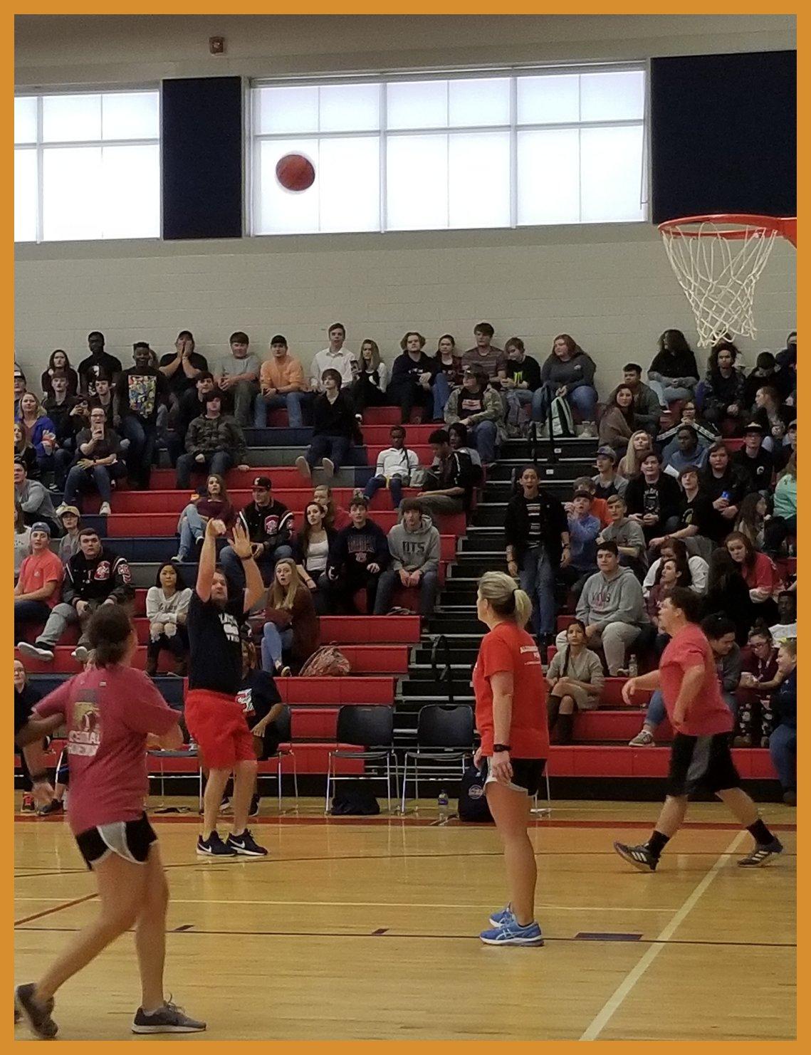 CHS vs. CJHS Faculty Basketball Game