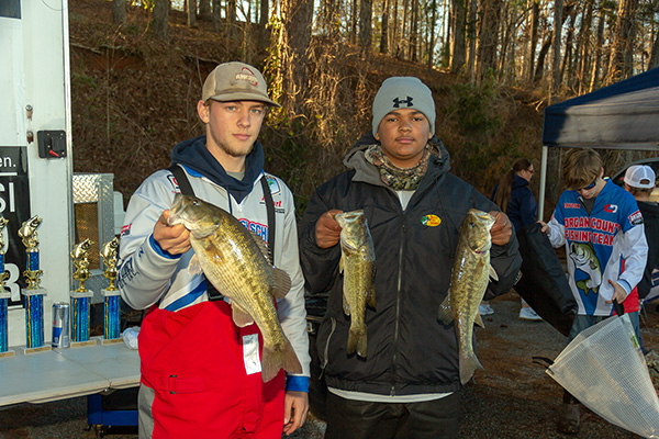 Fishing Team Competes At Lake Mitchell