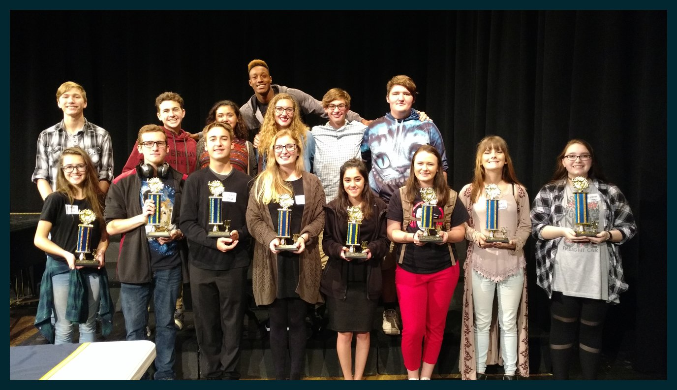 CHS Takes Honors at Southern Union Fine Arts Competition
