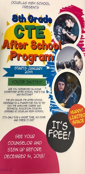 8th Grade CTE Program