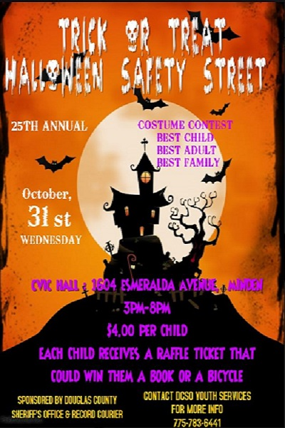 Halloween Safety Streets