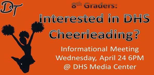 Interested in DHS Cheer?