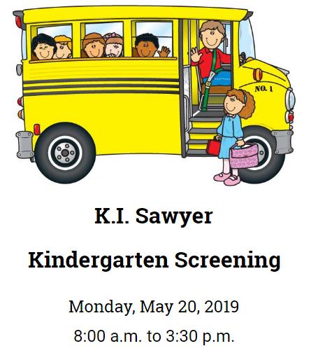 Kindergarten Screening at KI Sawyer