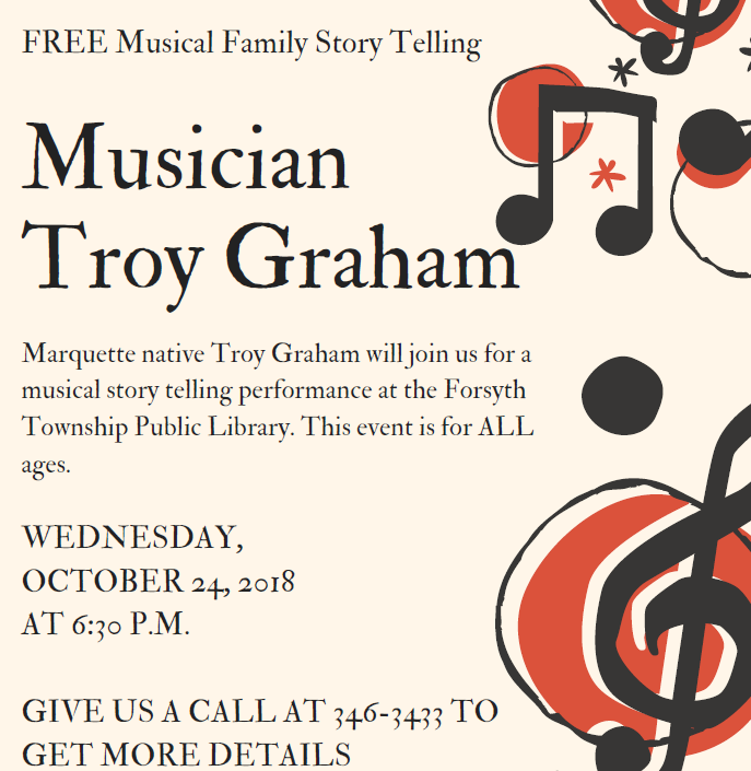 Free Musical Family Story Telling at FTL
