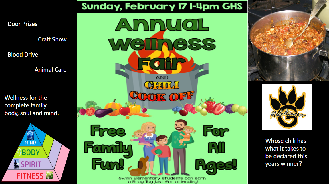 Annual Wellness Fair and Chili Cook-Off