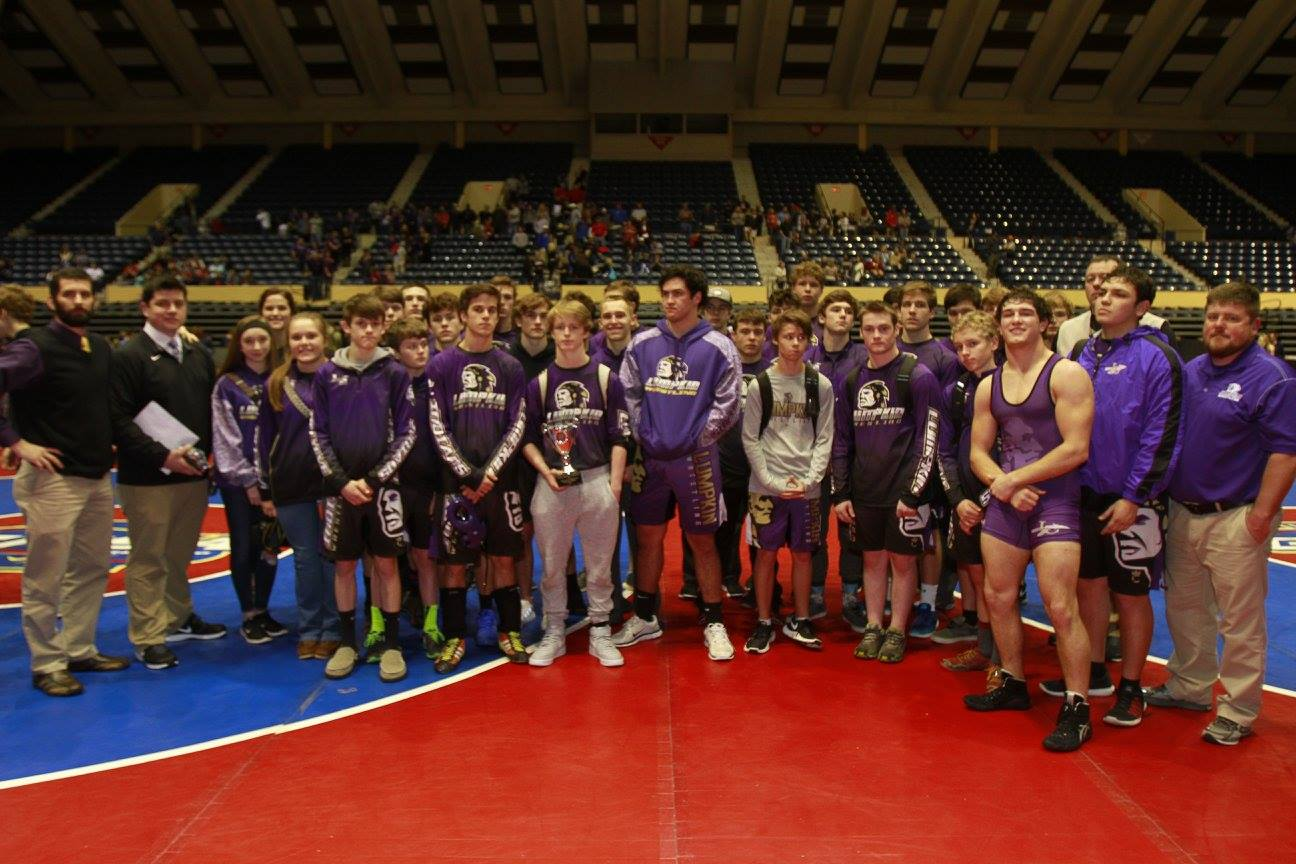 Lumpkin County High School Wrestling Team Makes History