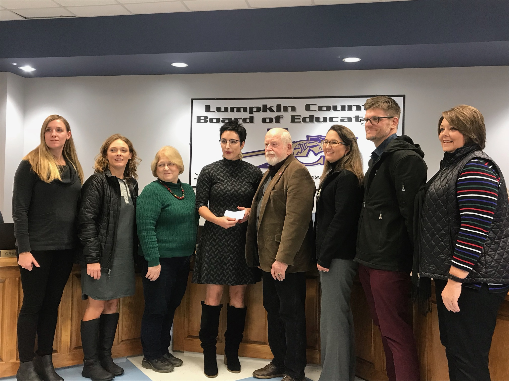 Lumpkin County Education Foundation teacher grant winners