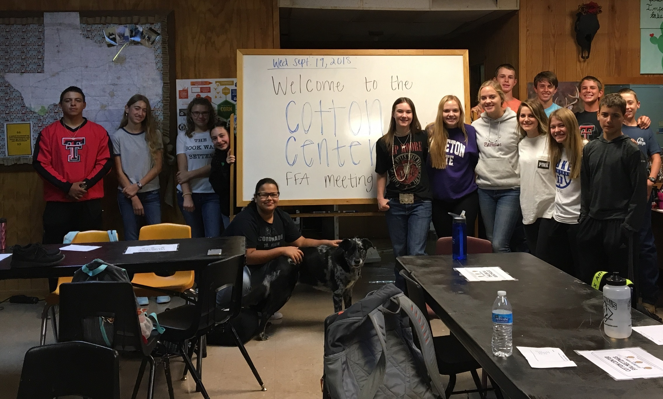 1st FFA meeting of the year