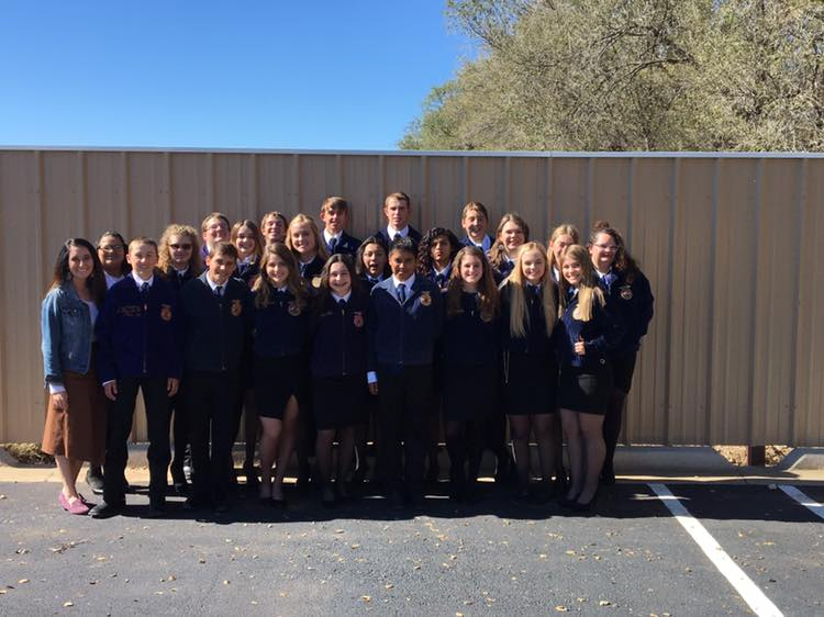 CC FFA 2018 District Level Leadership Development Events