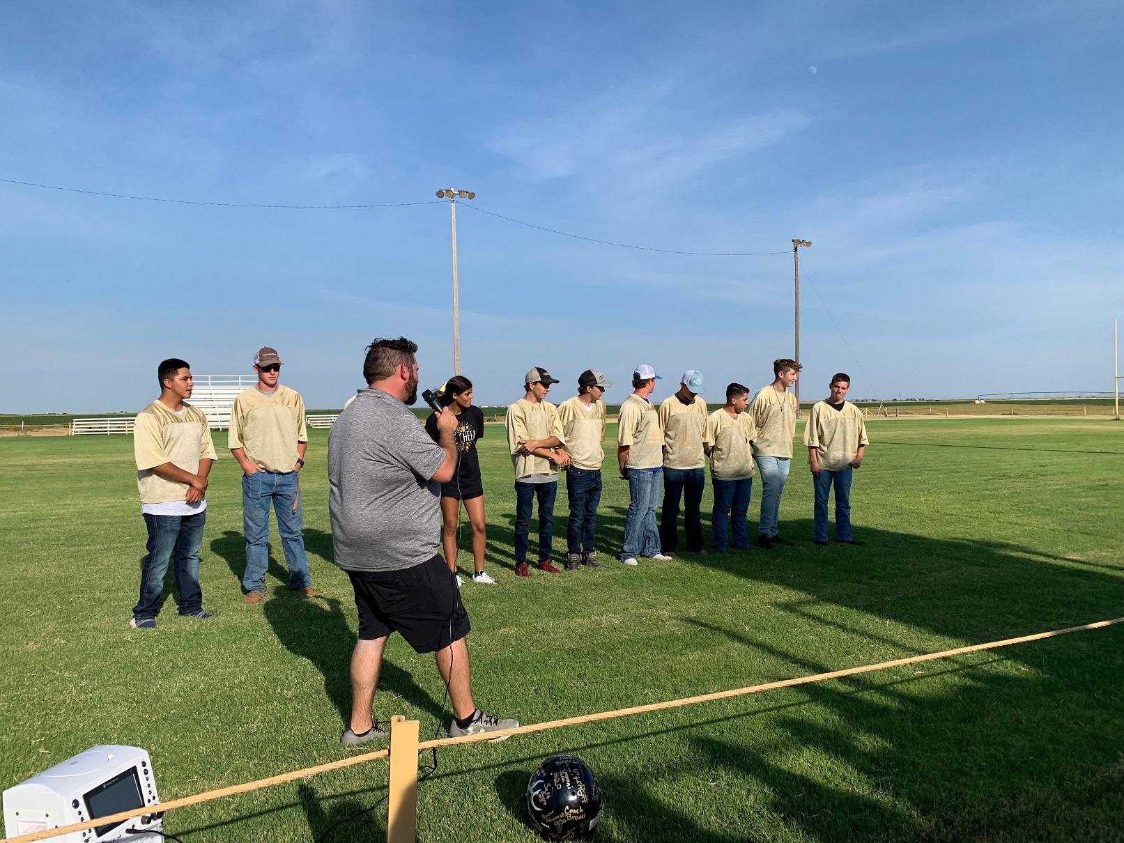 Coach Brewer & Team Elks