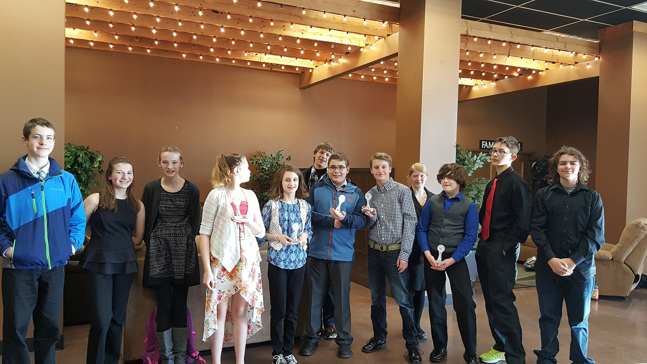 RMS FBLA Competitors on to State