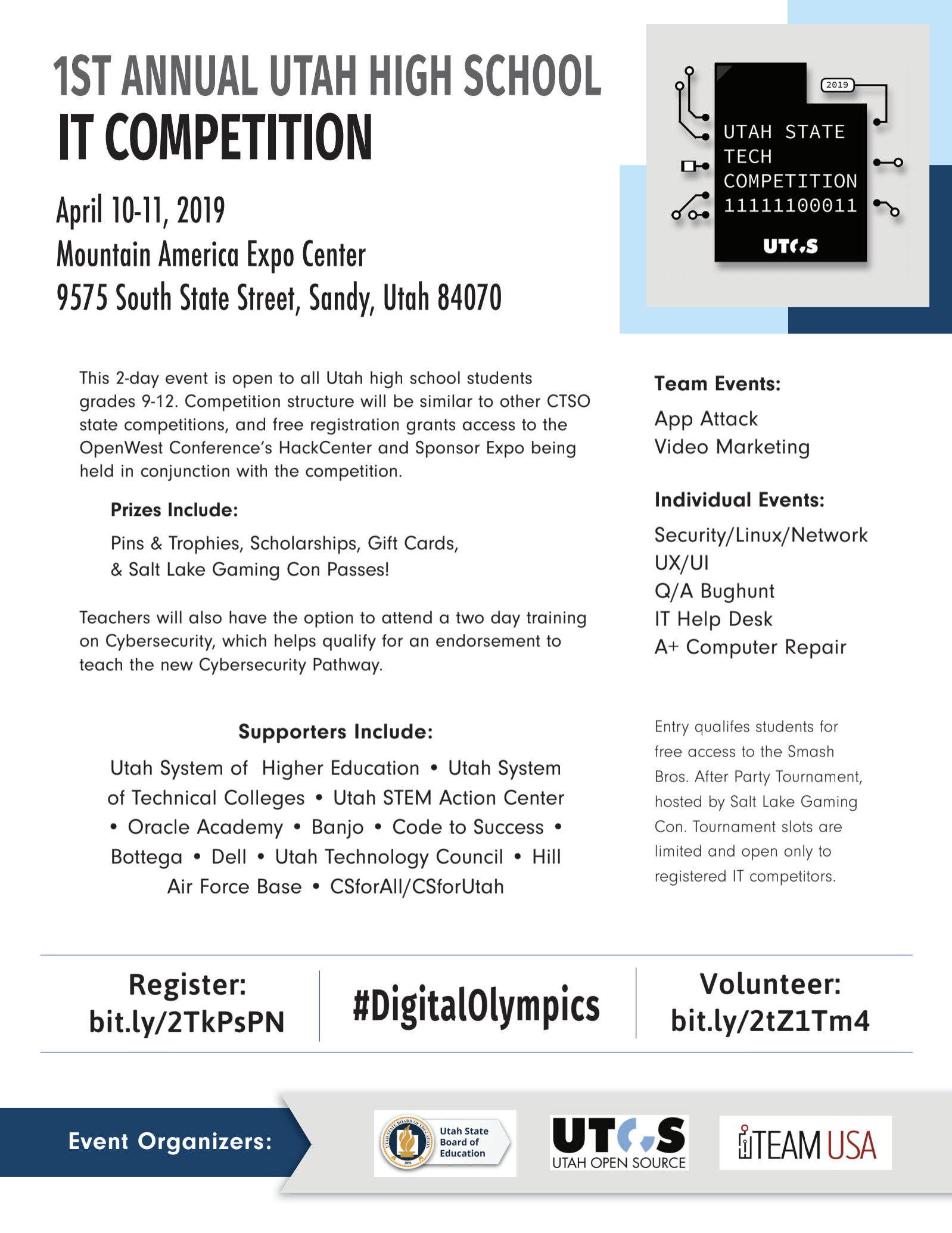 Utah High School IT Competition