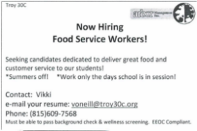 Arbor Food Services Hiring up