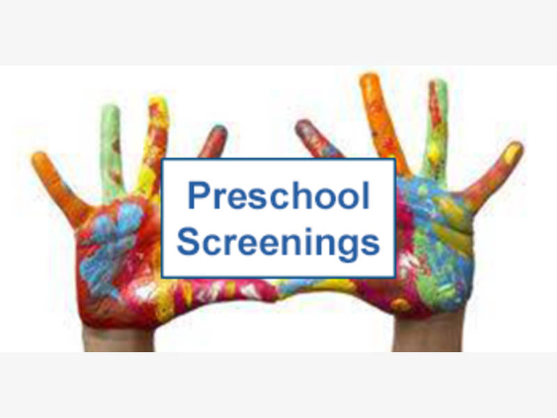 Schedule Preschool Screening!