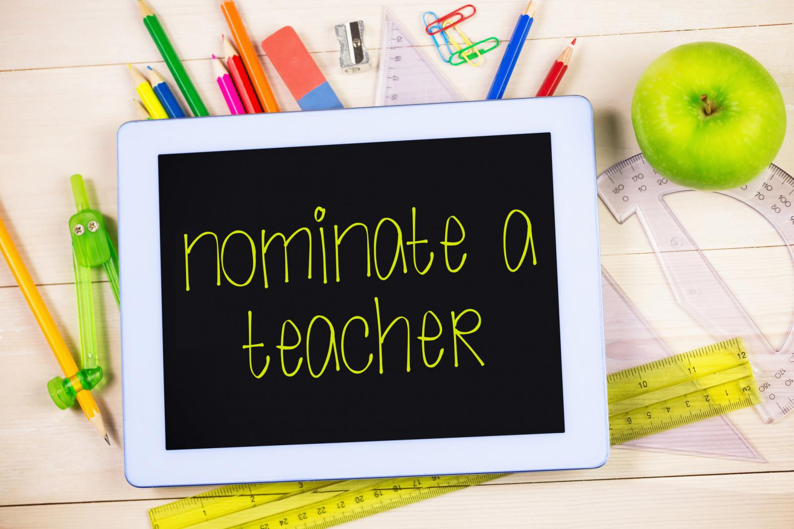 Nominate A Great Teacher!!
