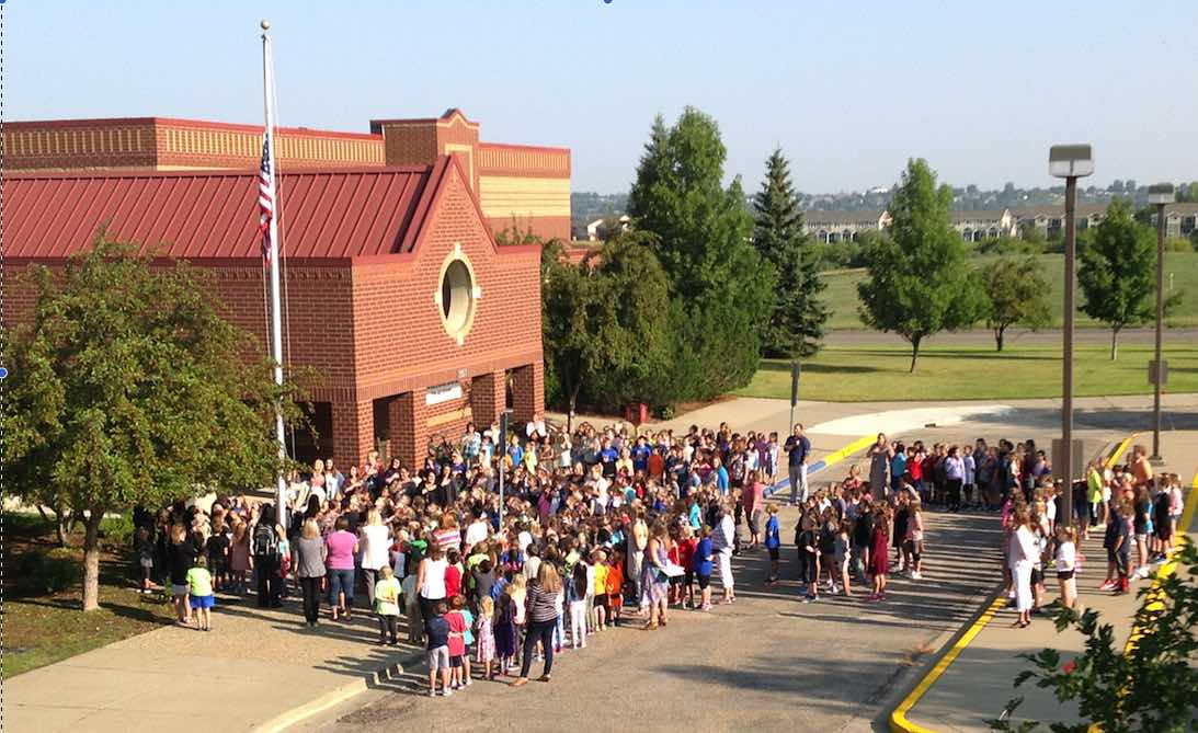 Fort Lincoln First Day of School!