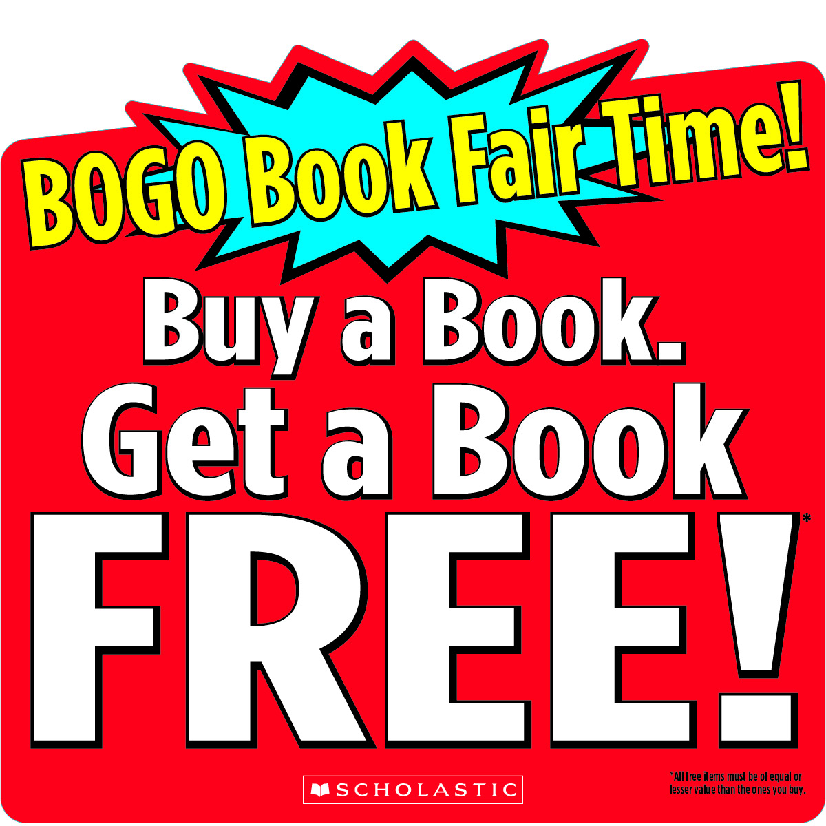 BOGO Library Book Fair