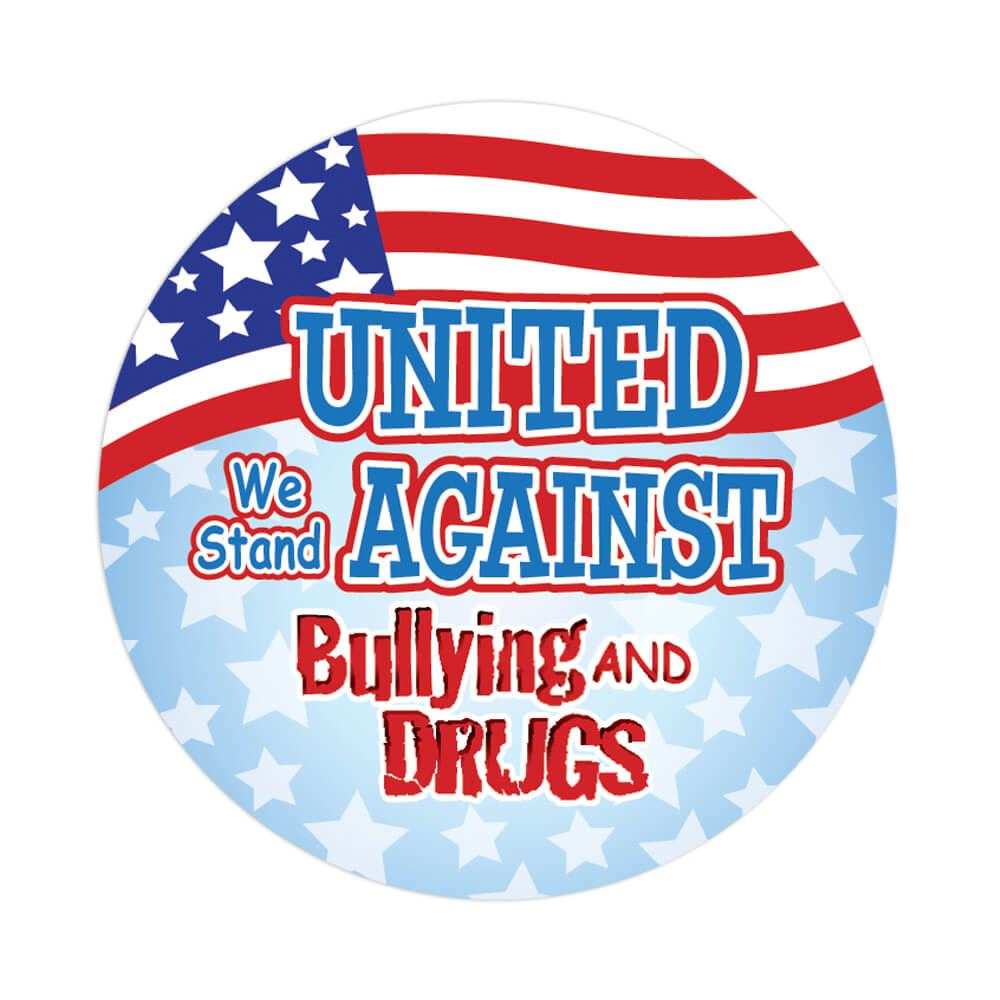 UNITED WE STAND FOR RED RIBBON WEEK