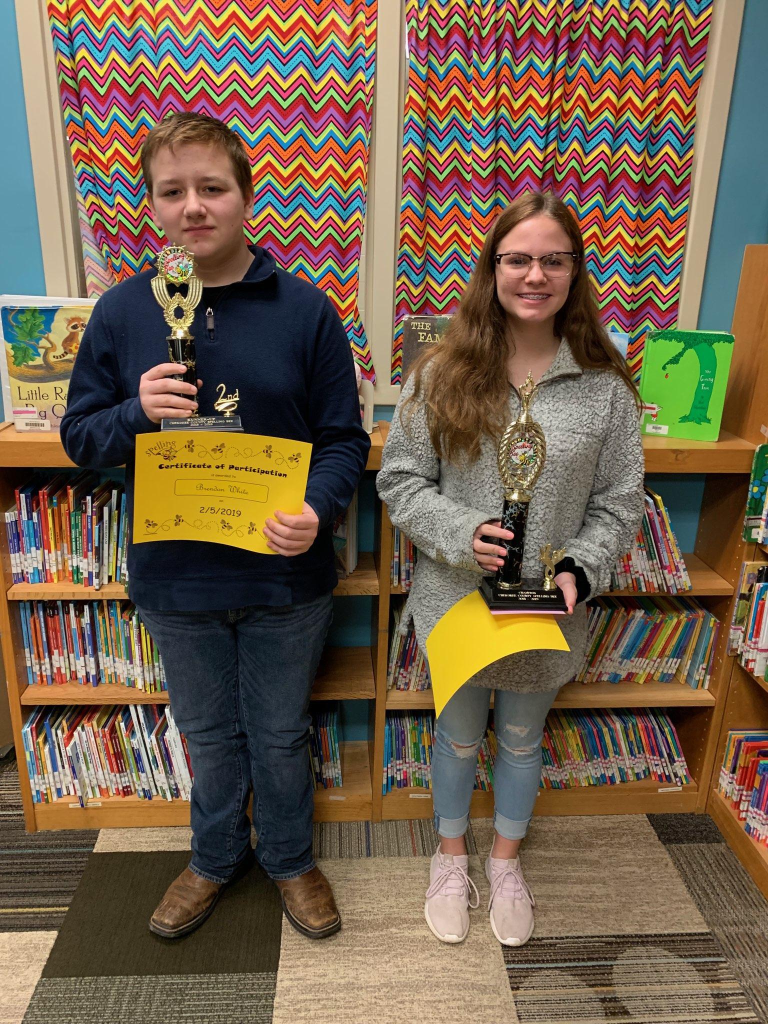 2019 Spelling Bee Winners