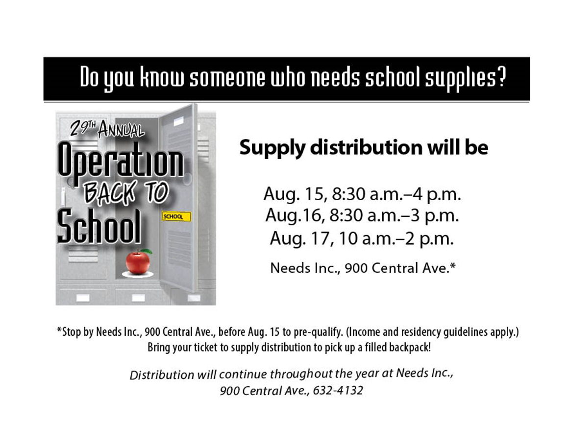 Need School Supplies?