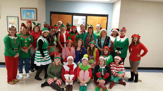 Elves in the building!