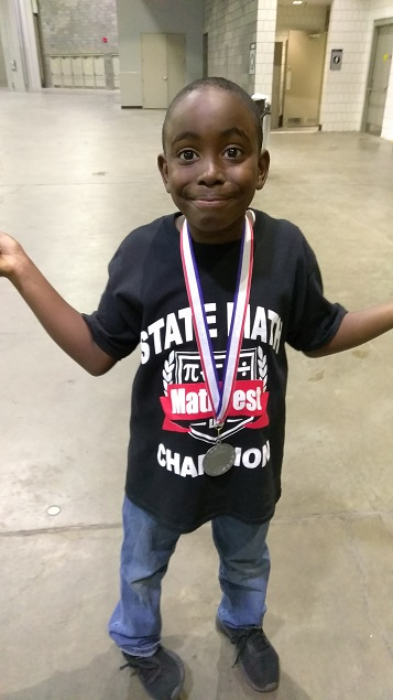 Frederick baker Passes State Math Competition!
