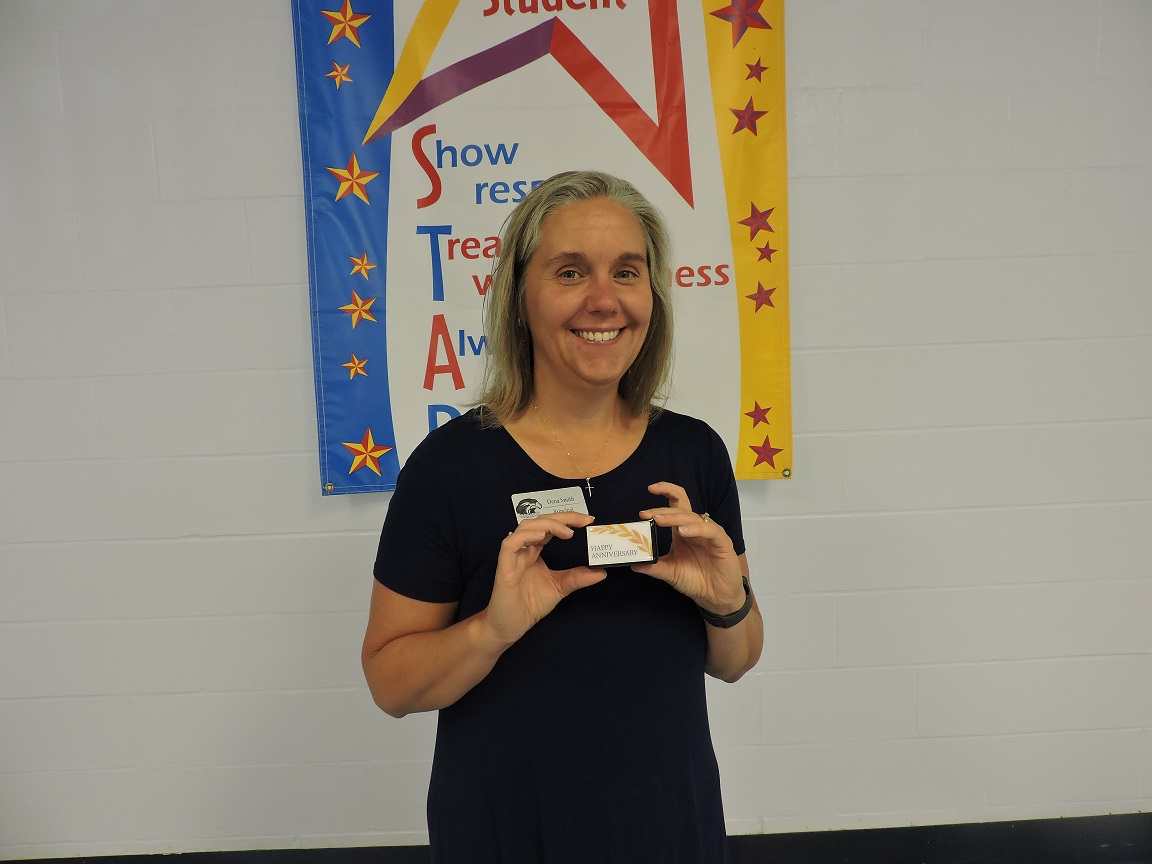 One Employee received a 15 Years of Service Milestone Pin