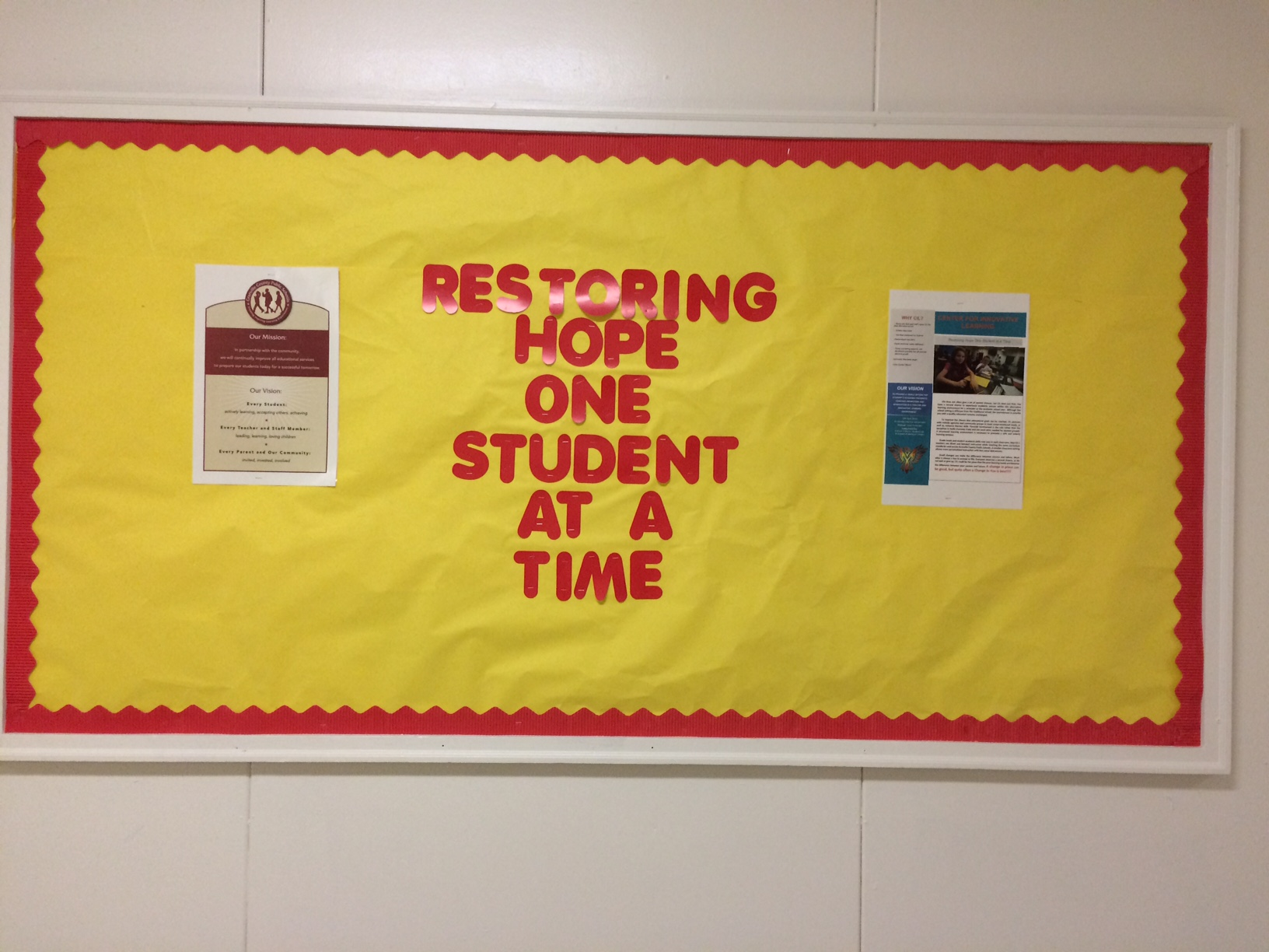 Restoring Hope One Student at a Time
