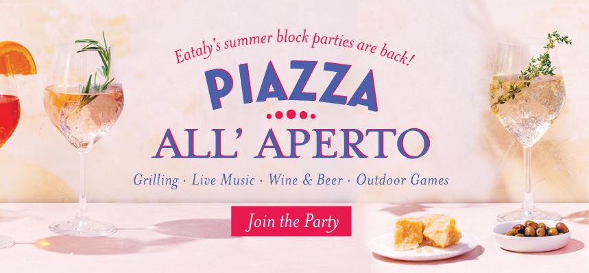 Eataly Summer Block Party