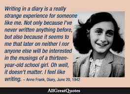 Fall Drama -The Diary of Anne Frank