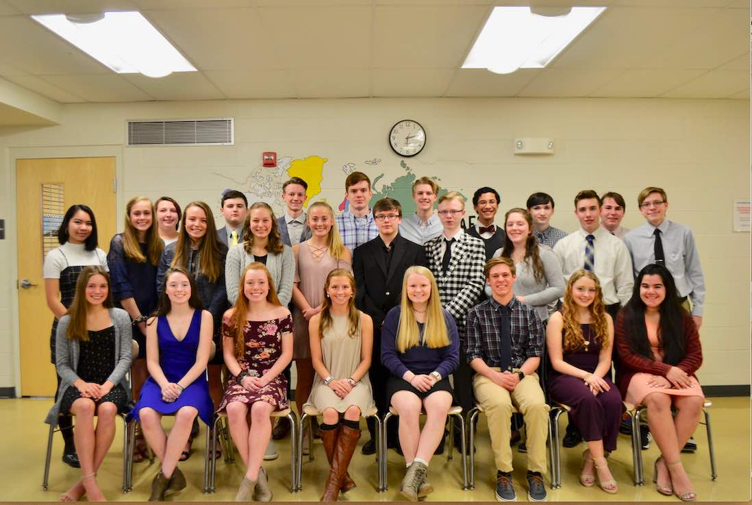 LRHS NHS Inducts 30 New Members!