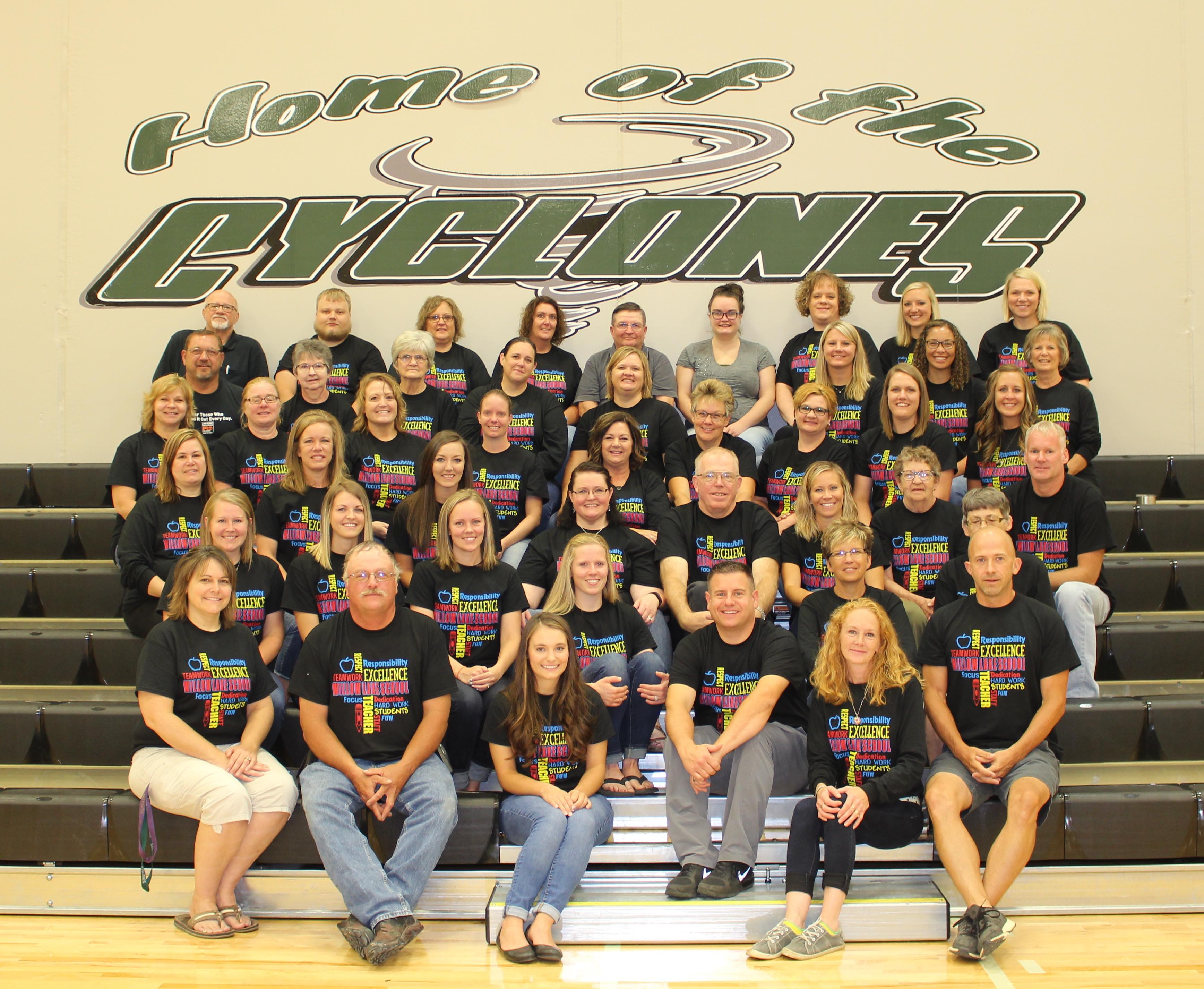 Willow Lake Staff