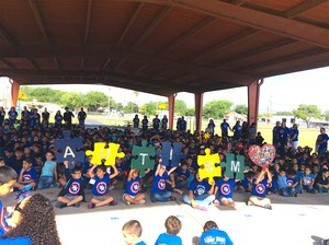 Saenz Elementary 3rd Annual Autism Parade