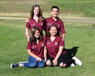 Sophomore Class Officers 2019-2020