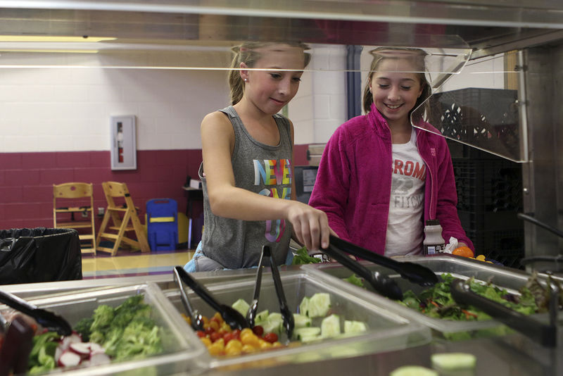 The Register-Herald: Farm to School Story Featuring Ronceverte Elementary