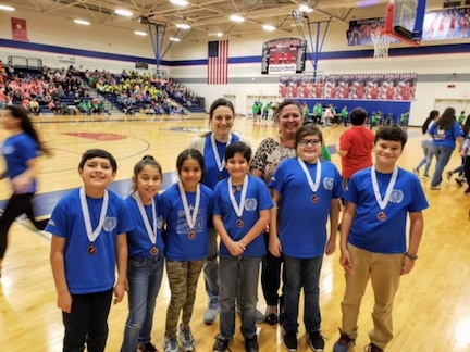 Placed 3rd  at Regionals Destination Imagination