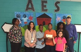 TVA Presents AES with Partners in Education Donation