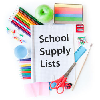 WOJH School Supply List